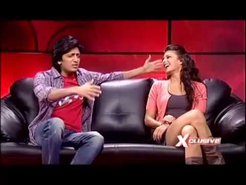 Will Riteish Kiss Srilankan Beauty  Jacqueline Fernandez video