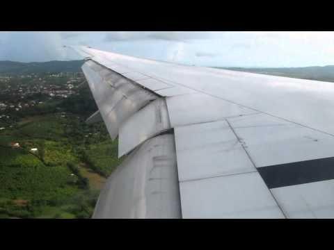 Hard Landing in Martinique runway 28