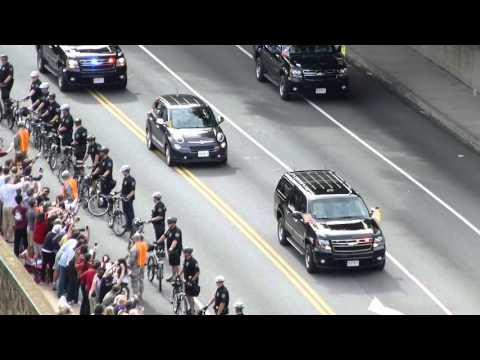 Pope Francis Heads To Independence Hall in Philadelphia Via Overbrook Farms PA