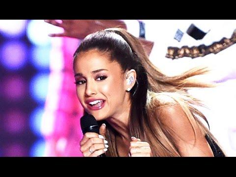 Ariana Grande Hit In The Face - Victoria's Secret Fashion Show 2014