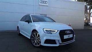 Brand New Audi A3 Sportback Black Edition for sale at Crewe Audi