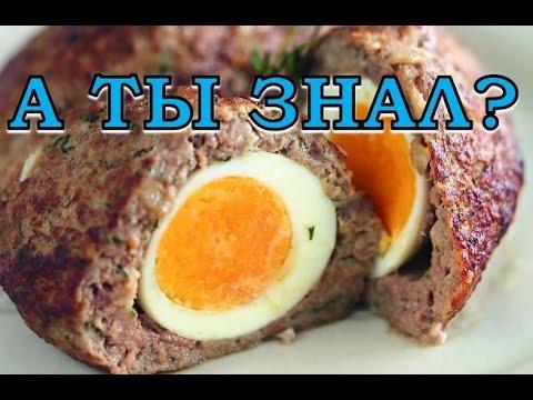 Котлеты с яйцом внутри. Пошаговый рецепт