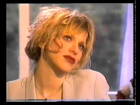 Courtney Love Interview About Kurt Cobain&#039;s Suicide, Drugs, Hole and Frances - 1995
