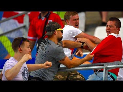"""Euro 2016 """"Extreme"""" Russian Ultras Targeting England Fans After Clash"""