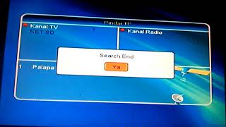 Frekueni Net TV dan Symbole Rate Net TV - Satelit Palapa D Terbaru Oktober