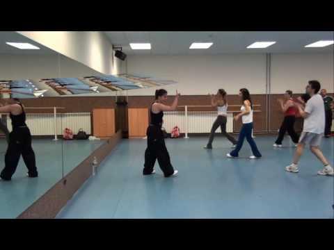 Fitclub 24 de Abril. Coreografía de aerobic de Aloña Martinez