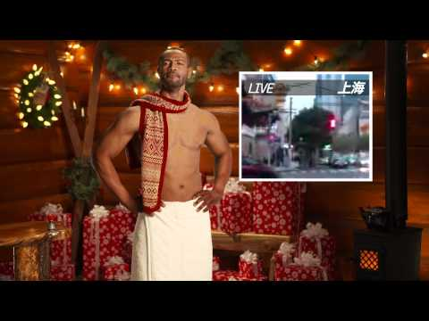 Old Spice Man Returns For Christmas Gift Giving Video Spree