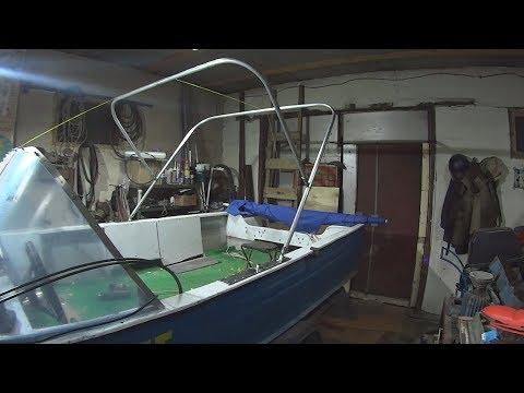 Как сделать дуги на лодку своими руками 95
