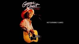 Watch George Strait Hot Burning Flames video