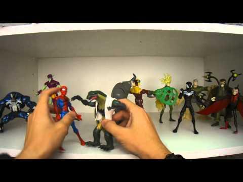 Review dos bonecos da coleção Spectacular Spider-Man