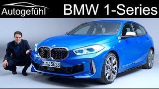 all-new BMW 1-Series Exterior Interior REVIEW M135i vs Sport Line - Autogefühl