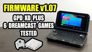 GPD XD PLUS 6 DreamCast Games Tested