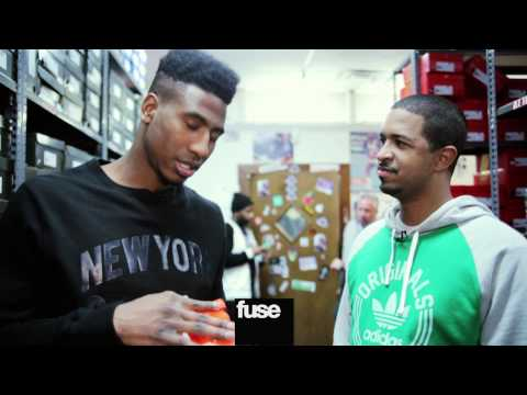 NY Knicks Shumpert Exclusive Sneaker Release