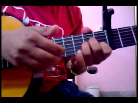Learn Tera Mera Pyar ( Kumar Sanu) Strumming Explained -part 2- On Guitar video