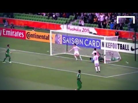 Saudi Arabia score from a surreal penalty