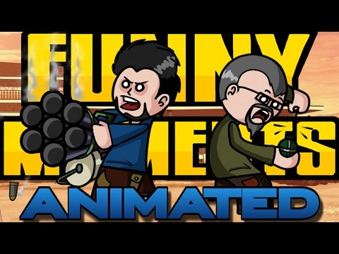ANIMATED FUNNY MOMENTS #1 | ROCK & ROJO: GTA V ONLINE | PAWLOSARTS
