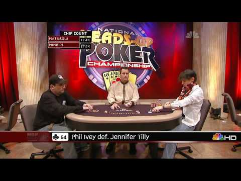 National Heads Up Poker Championship 2009 Episode 1 4/5 Video