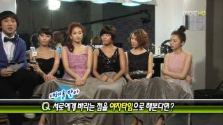 01 30 09 Wonder Girls   Photoshoot + Interview on Section TV