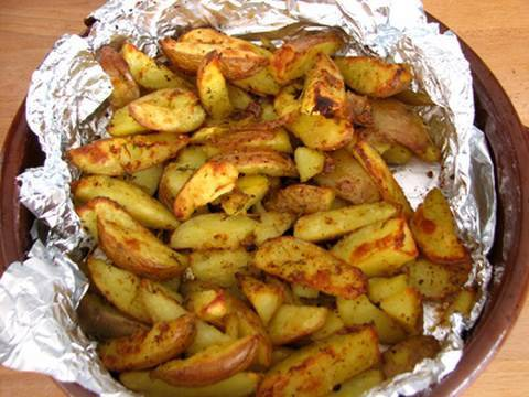 Oven roasted potatoes - Recipe