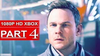 Quantum Break Gameplay Walkthrough Part 4 [1080p HD Xbox One] - No Commentary