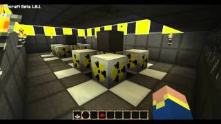 Minecraft - Buildcraft/Industrialcraft Nuclear Reactor+Combustion engines
