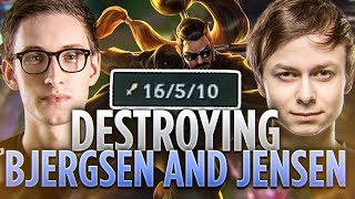 Tarzaned | DESTROYING BJERGSEN AND JENSEN | THE BEST EARLY GAME EVER?