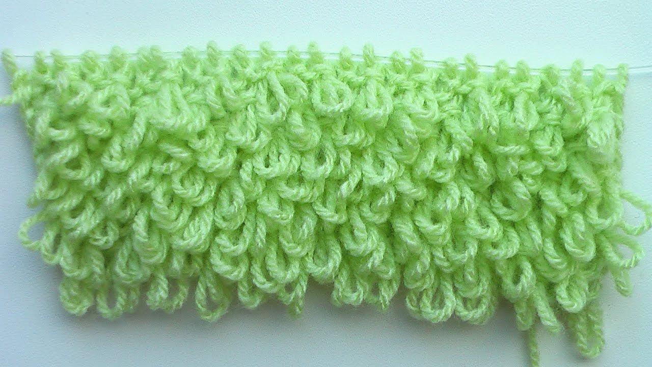 Вязание на спицах узор буфы