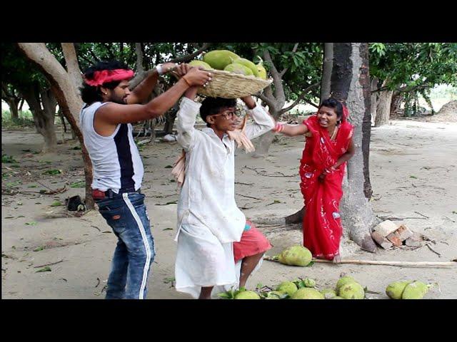 Khesari 2 Comedy || आईल आँधी ऊधीयाईल पलानी || 2019 के तेज आँधी से हुआ आम, कटहर गिर के ढेर | Bhojpuri thumbnail