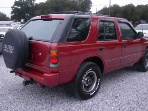 Isuzu rodeo videa for Frontier motors pensacola fl