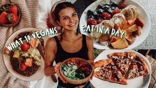 what 10 vegans eat in a day | plant-based meal inspiration ????????????????