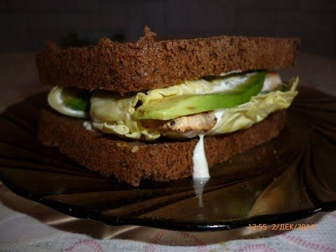 Полезный бутерброд. Диетический рецепт