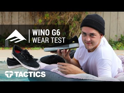 Emerica Wino G6 Skate Shoes Wear Test Review With Dalton Dern - Tactics.com