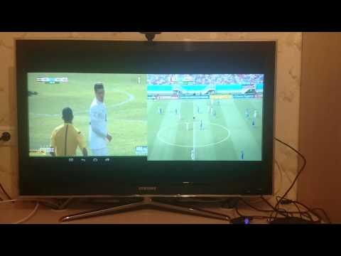Tronsmart Vega S802-H футбол по Sopcast