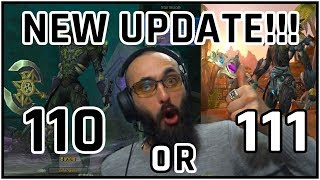 110 vs 111 Twink? - NEW UPDATE - Is 111 THE WAE? - Benefits & Losses by Going 111 | 8.2 Twinking BFA