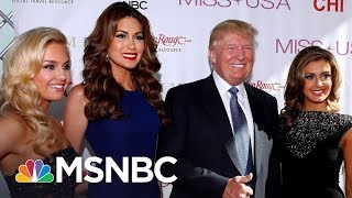 """President Donald Trump Accuser Samantha Holvey: """"What Has [Trump] Ever Done For Women?""""   MSNBC"""