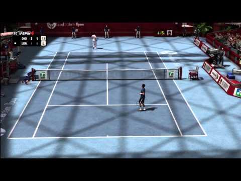 Top Spin 4 - Ivan レンドル vs. Novak ジョコビッチ