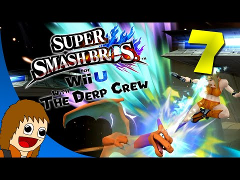 Super Smash Bros Wii U (1080p60) - Femme Fatale (plus Charizard): Part 7 (w/ The Derp Crew)