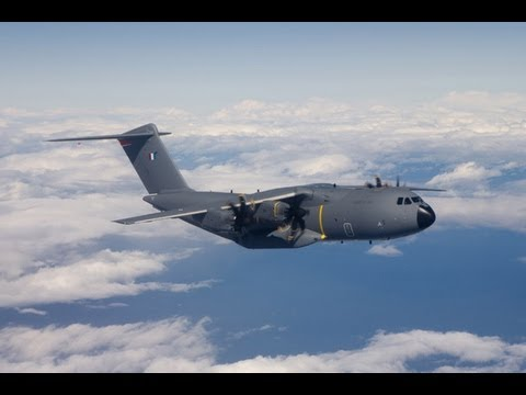 EADS TV - A400M Heavy Airlifter Maiden Flight Before Delivery To The French Air Force [480p]