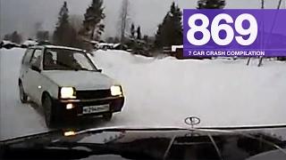 Car Crashes Compilation 869 - February 2017