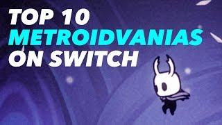 Top 10 Metroidvanias on Switch