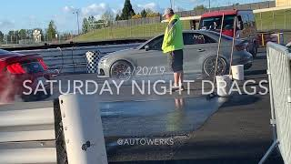 PIR Saturday Night Drags 4/20/19 10 Second RS3 Daily Drivers