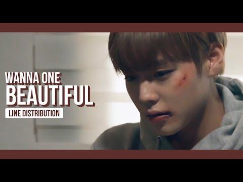 WANNA ONE - Beautiful Line Distribution (Color Coded)   워너원 - 뷰티풀 MP3
