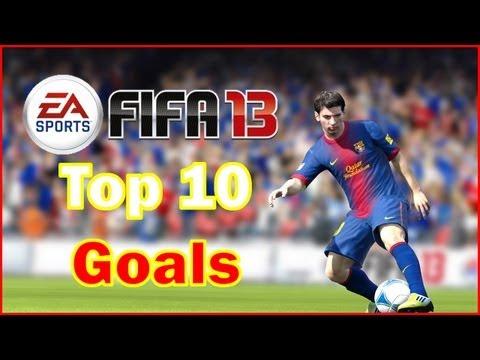 FIFA 13 Top 10 Goals