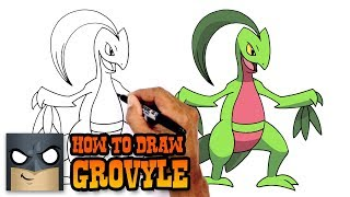 Download How to Draw Grovyle | Pokemon 3Gp Mp4