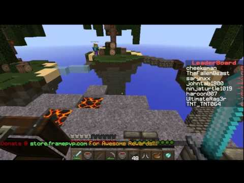 Minecraft Minigame: Skywars (narnia For The Win!) video