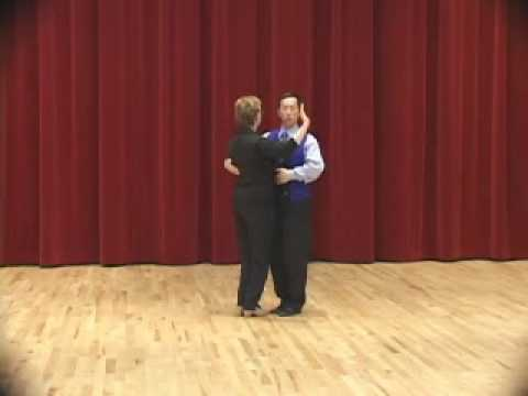 Bronze Tango - Open Reverse Turn Ballroom Dance Lesson