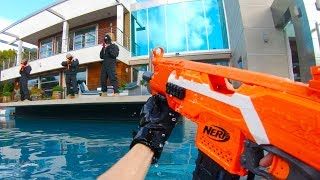 Nerf War: Mansion Battle