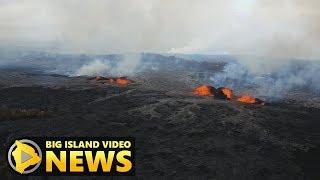 Hawaii Volcano Eruption Update - Saturday Night (May 26, 2018)