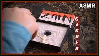 (( ASMR )) Mini Zen Garden ( Unboxing, Whiteboard and Design.)