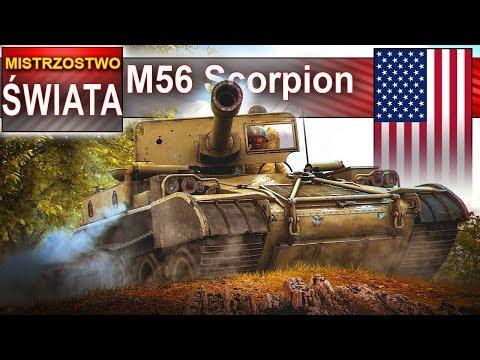 M56 Scorpion - Mistrzostwo świata W Mieście? World Of Tanks